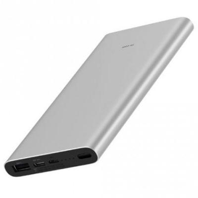 Внешний аккумулятор Xiaomi Mi Power Bank 3 (10000 mAh, серый)